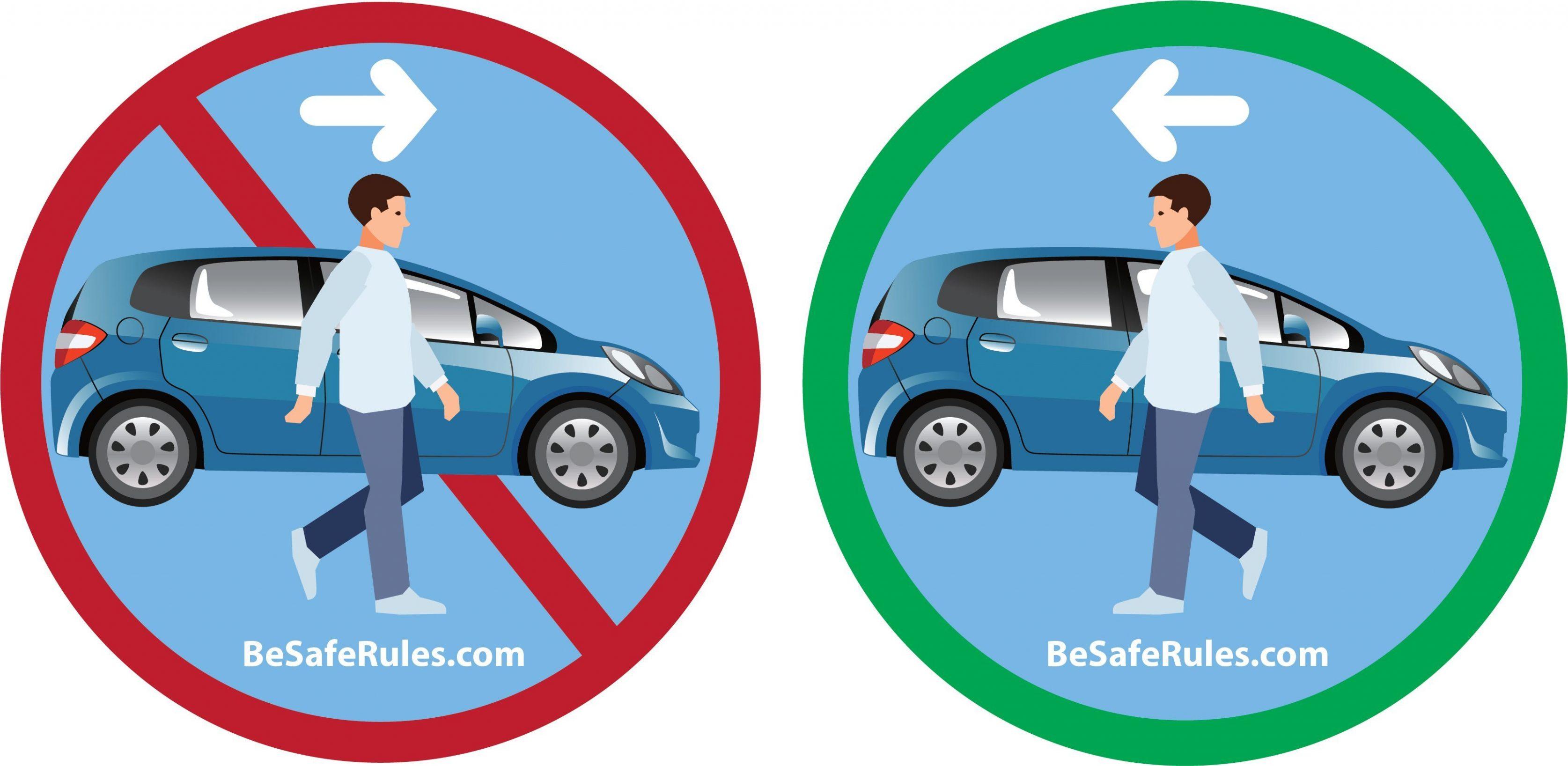 Pedestrian Walking Rules