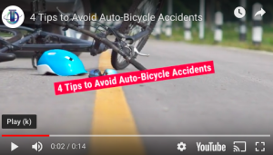4 tips to avoid auto-bicycle accidents